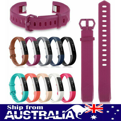 AU5.99 • Buy AU Soft Silicone Replace Wrist Watch Band Strap Bracelet For Fitbit Alta HR Ol