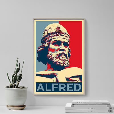 £7.50 • Buy Alfred The Great Art Print 'Hope' - Photo Poster Gift - King Of Wessex