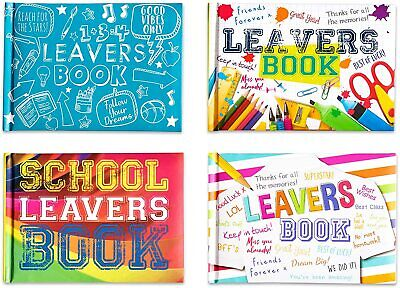 £14.99 • Buy Bulk Price 12 X School Leavers Autograph And Message Book