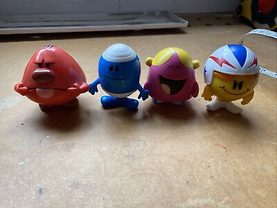 """£25 • Buy Mr Men Small 2.5"""" Figures Mattel, Thiop 2008 Rare Collectable  Chunky 4 Figures"""