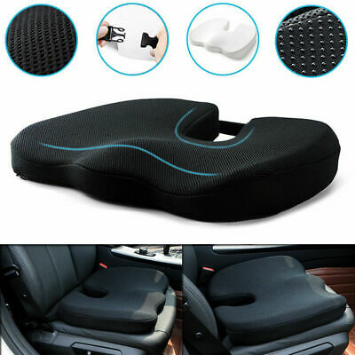£16.99 • Buy Memory Foam Thick Car Front Seat Cushion Office Chair Soft Breathable Pad Mat