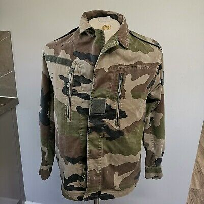 £25 • Buy  French Military F2 Ce Pattern Ripstop French Camo Shirt Tunic Jacket 38  Chest