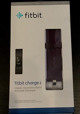 $ CDN11.08 • Buy Fitbit Charge 2 Classic Accessory Band Bracelet Authentic Fitbit Blue Large New