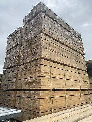 £16.80 • Buy 3M Untreated Scaffold Boards/ Planks ~ New