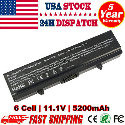$12.99 • Buy Battery For Dell Inspiron 1525 1526 1545 1546 GW240 RN873 X284G M911G HP297 PC