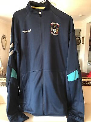 £29.99 • Buy COVENTRY CITY FC FOOTBALL TECH MOVE POLY ZIP JACKET Size M (£45) BNWT