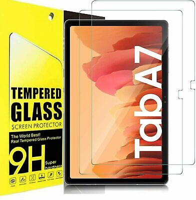 £3.60 • Buy For Samsung Galaxy Tab A7 10.4 2020 HD Tempered Glass Screen Protector T500/T505