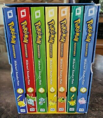AU57.75 • Buy Pokemon Adventures Red & Blue Box Set: Volumes 1-7 (NO POSTER INCLUDED)