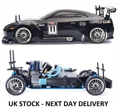 £203.99 • Buy NITRO RC Car 1/10th Scale Two Gears Remote Control Car - With STARTER KIT & FUEL