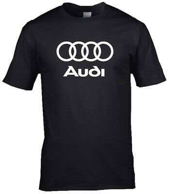 Audi Car Logo Premium Cotton T-shirt • 9.99£