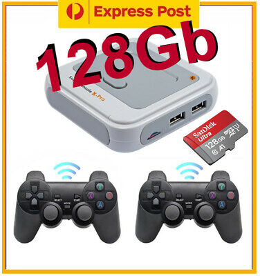 AU158 • Buy Super Console X PRO 128GB 40000+ Games Wireless Controllers PS1 DC PSP N64 AMIGA
