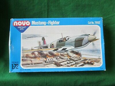 Vintage Novo North American Mustang P-51a Fighter Model Kit 1/72 #78102 F196 • 9.99£