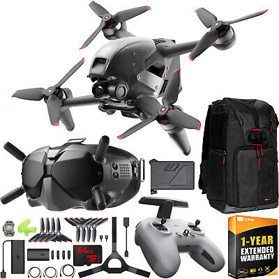 AU1656.57 • Buy DJI FPV Combo Drone 4K Quadcopter With Goggles & Remote Control On The Go Bundle