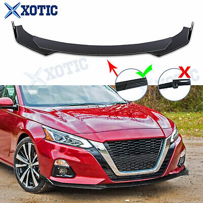 $109.92 • Buy Bumper Lip Spoiler Splitter Protector Under Diffuser For Nissan Altima 370Z GTR