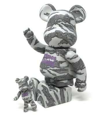$249.99 • Buy Atmos Solebox 400% 100% Bearbrick Be@rbrick Medicom Toy ComplexCon Rare Limited