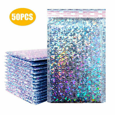 £23.35 • Buy Metallic Bubble Mailers Padded Envelope Bags Lined Poly Mailer Self Seal - UK