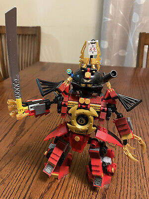 £26.47 • Buy LEGO 9448 Ninjago Samurai Mech Only Appears 100% Complete NO Figs Exc Cond!