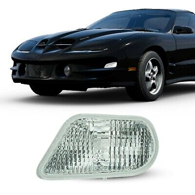 $29.85 • Buy For 1998 99 2000 01 02 Pontiac Trans Am Front Turn Signal Light Lamp Driver Side