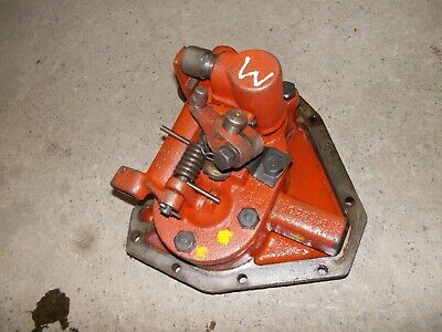 $149.85 • Buy Farmall M IH Tractor ORIGINAL Hydraulic Bell Pump Assembly W/ Cover Panel
