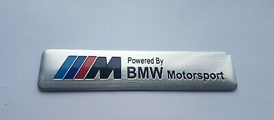 $9.15 • Buy Powered By BMW Motorsport M Performance Badge