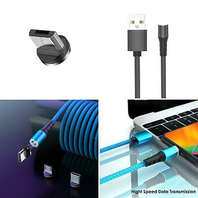 $3.71 • Buy Magnetic Adsorption 5A Fast Charging Cable Wire Micro USB Type-C Plug Candy