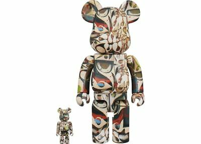 $319.99 • Buy Phil Frost 400% 100% Bearbrick Be@rbrick 2018 Tan Medicom Toy Japan Limited Rare