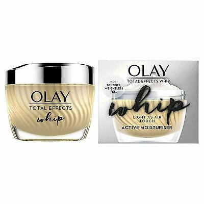 AU23.52 • Buy  Olay Total Effects Whip Light As Air Active Moisturiser 7-in-1 Benefits, 50ml