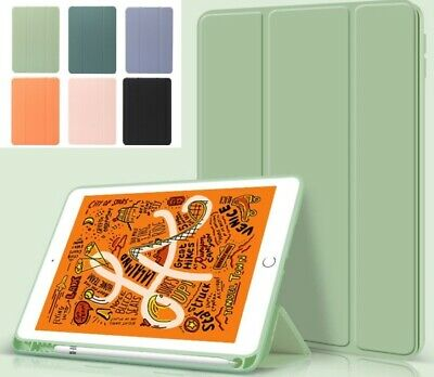 AU13.95 • Buy For IPad Air 4th Gen 10.9 8th 7th Case Shockproof Smart Cover & Pencil Holder