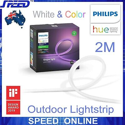 AU209 • Buy PHILIPS Hue White & Color Ambiance Lightstrip Outdoor/Indoor - 2M (Full Pack)