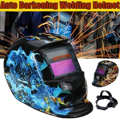 $ CDN50.95 • Buy KingSo Solar Power Auto Darkening Welding Helmet Arc Tig Mig Grinding Weld