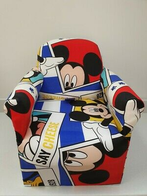 £32.99 • Buy Children's Mickey Mouse Character Good Quality Kids Arm Chair Seat Brand New