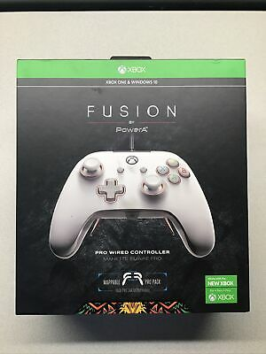 $ CDN54.57 • Buy PowerA Fusion Pro Wired Controller For Xbox One/ Series X/S & Windows 10 - White