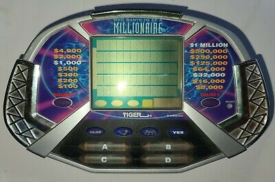 £8.51 • Buy Who Wants To Be A Millionaire Handheld Electronic Game Tiger 2000 Tested