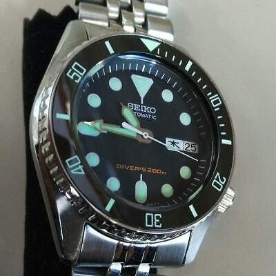 $ CDN1005.07 • Buy Seiko Diver Modified SKX013 Day Date Automatic Mens Watch Authentic Working
