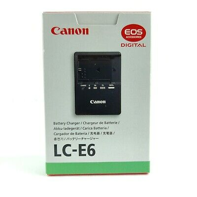 £28.31 • Buy NEW Genuine OEM Canon LC-E6 Battery Charger For LP-E6