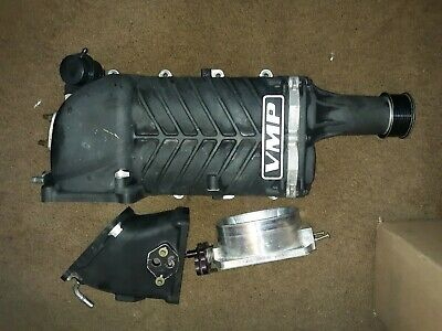 $3800 • Buy 03-04 Mustang Cobra Vmp Supercharger Gen2 With 2.8 Pulley And Gt500 Throttle