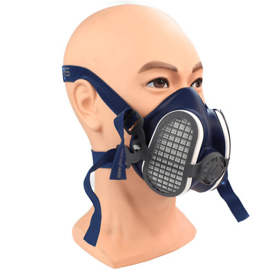 GVS Elipse Half Mask SPR501 P3 Reusable Medium/Large WITH FILTERS Made In The UK • 17.99£