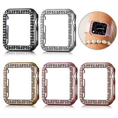 $ CDN13.79 • Buy Crystal Diamond Watch Cover Case Protector For Apple IWatch Series SE 6/5/4/3/2