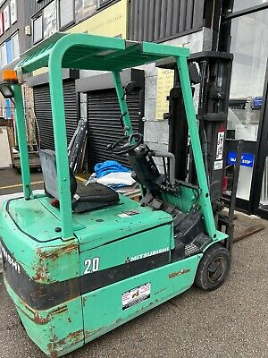 £2200 • Buy Mitsubishi Electric Forklift Truck Good Working Need New Batteries