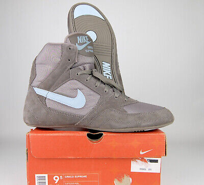$ CDN380.90 • Buy Nike Greco Supreme Wrestling Shoes Size 9.5 (2003) Gray Baby Blue Mens RARE