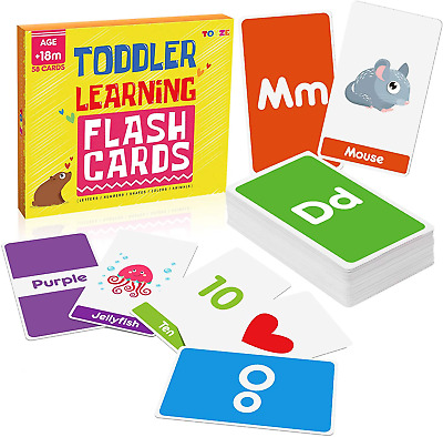 £11.45 • Buy Toyze Toys For 1-6 Year Old Boys Girls,Flash Cards For Toddlers Age 1 2 3 4 5
