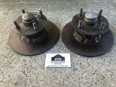 AU365 • Buy Torana HB LC LJ TA Disc Brake Hubs And Discs Suit 4 Cylinder S SL Deluxe Holden