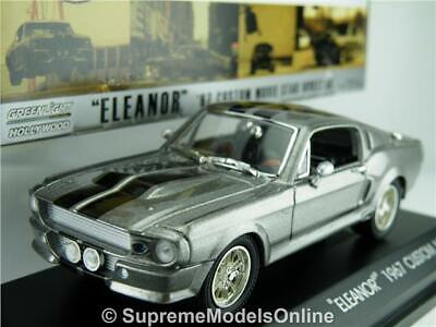 £34.99 • Buy Shelby Ford Mustang 1967 Eleanor Gone In 60 Seconds Model Car 1:43 Greenlight K8