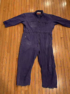 $29.99 • Buy Indura F R Red Cap Coveralls XXL Fire Resistant Ford Motor Casting Foundry Issue