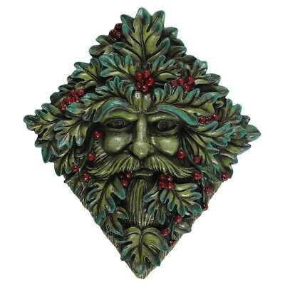 £22.99 • Buy Pagan/Wiccan Festive Green Man Wall Plaque