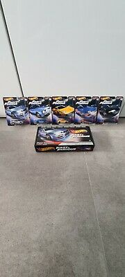 AU50 • Buy Hot Wheels Premium Fast And Furious Fast Imports Real Riders FULL SET