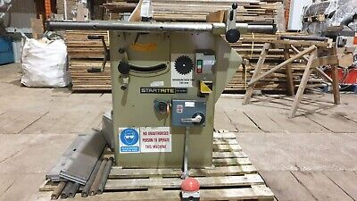 £1995 • Buy 415v Table Saw * DELIVERY AVAILABLE * Startrite Bench Panel