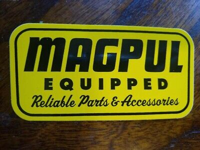 $4.98 • Buy OEM Original Magpul Equipped Sticker/Decal Tactical AR AK Hunting Pmag Airsoft