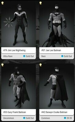 $17500 • Buy Veve Nft Complete Batman S4 (sold Out)! Collectors Nightwing, Jae Lee, Frank...