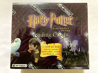 $ CDN12498 • Buy Artbox Harry Potter Sorcerers Stone Factory Sealed Hobby Box Super Rare! Booster